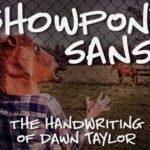 Showpony Sans Handwritten Font