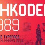 SHKODER 1989 Typeface