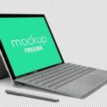 Microsoft Surface Pro 4 PSD Mockup
