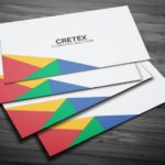 Creative Geometric Business Card PSD Template