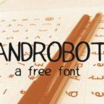 HandRoboto Handwritten Font