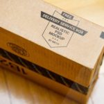 Delivery Packaging Box PSD Mockup
