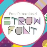 Strow Display Font