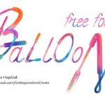 Balloon: Brush Font (With Patterns)