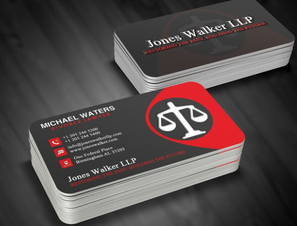 free lawyer business card template psd titanui